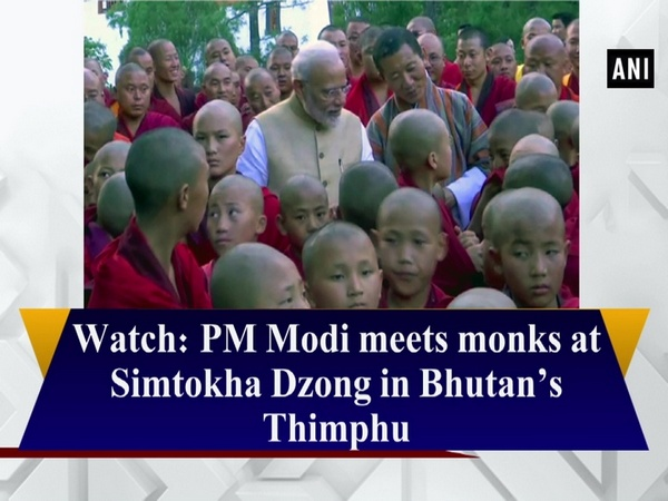 Watch: PM Modi meets monks at Simtokha Dzong in Bhutan's Thimphu