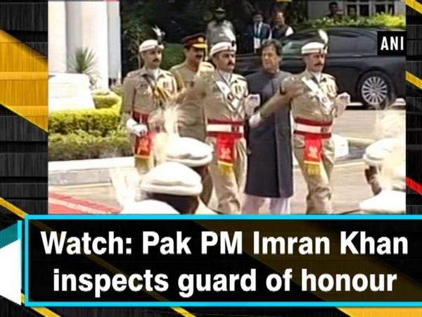 Watch: Pak PM Imran Khan inspects guard of honour