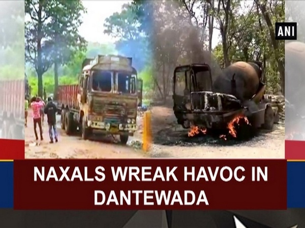 Naxals wreak havoc in Dantewada