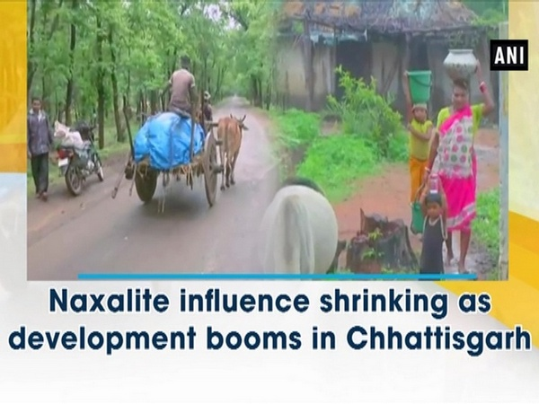 Naxalite influence shrinking as development booms in Chhattisgarh
