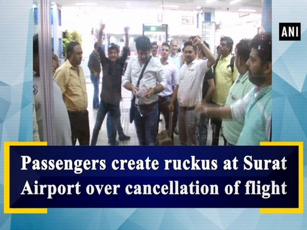 Passengers create ruckus at Surat Airport over cancellation of flight