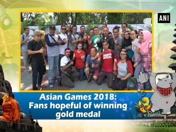 Asian Games 2018: Fans hopeful of winning gold medal