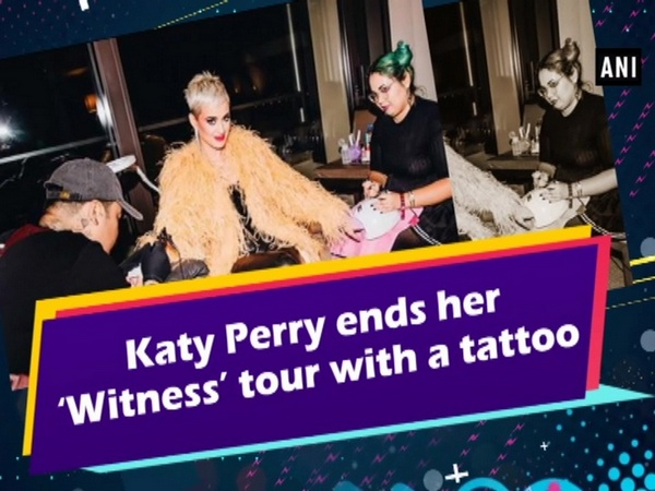 Katy Perry ends her 'Witness' tour with a tattoo