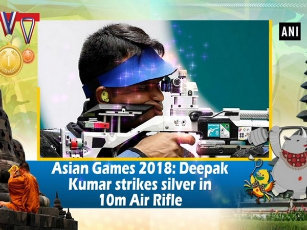 Asian Games 2018: Deepak Kumar strikes silver in 10m Air Rifle