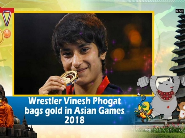 Wrestler Vinesh Phogat bags gold in Asian Games 2018
