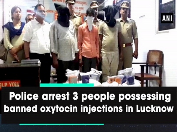 Police arrest 3 people possessing banned oxytocin injections in Lucknow