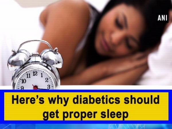 Here's why diabetics should get proper sleep