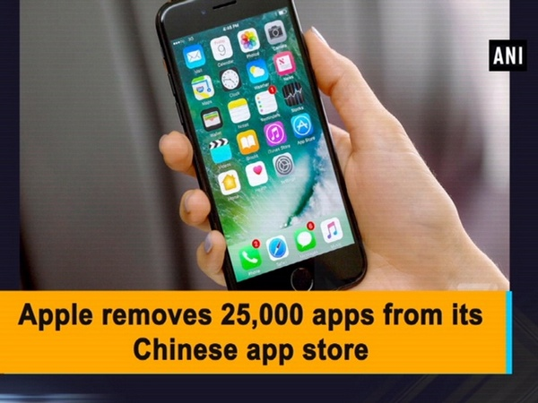 Apple removes 25,000 apps from its Chinese app store