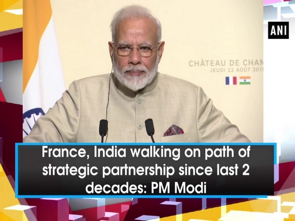 France, India walking on path of strategic partnership since last 2 decades: PM Modi