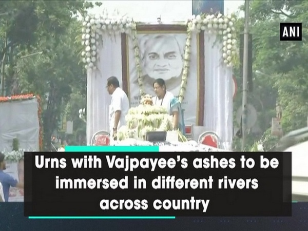 Urns with Vajpayee's ashes to be immersed in different rivers across country