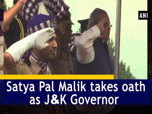 Satya Pal Malik takes oath as J&K Governor