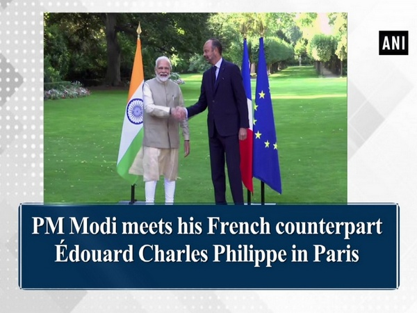 PM Modi meets his French counterpart Édouard Charles Philippe in Paris
