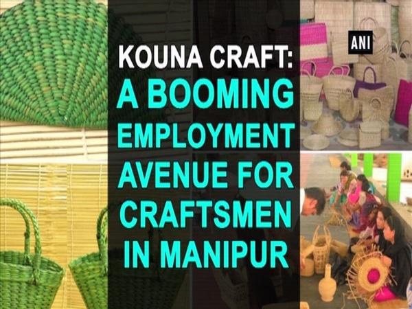 Kouna craft: A booming employment avenue for craftsmen in Manipur