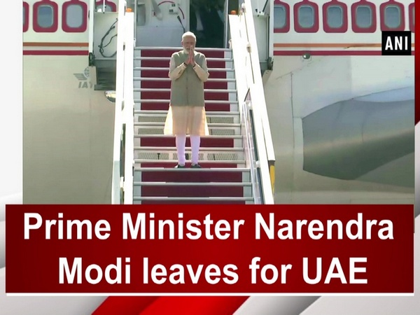 Prime Minister Narendra Modi leaves for UAE