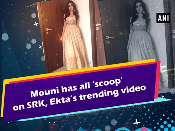 Mouni has all 'scoop' on SRK, Ekta's trending video