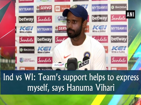 Ind vs WI: Team's support helps to express myself, says Hanuma Vihari
