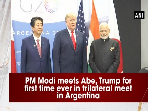 PM Modi meets Abe, Trump for first time ever in trilateral meet in Argentina