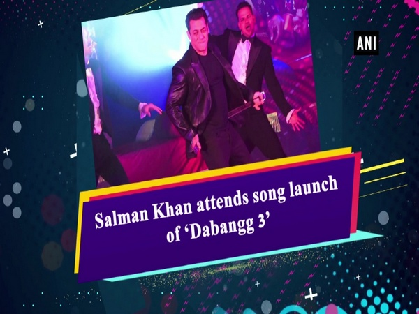 Salman Khan attends song launch of 'Dabangg 3'