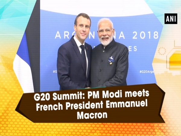 G20 Summit: PM Modi meets French President Emmanuel Macron