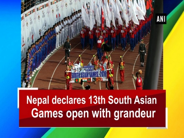 Nepal declares 13th South Asian Games open with grandeur