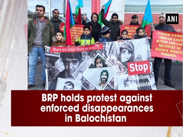 BRP holds protest against enforced disappearances in Balochistan