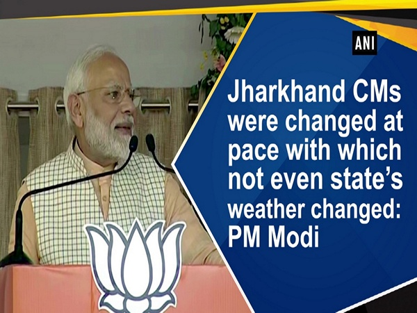 Jharkhand CMs were changed at pace with which not even state's weather changed: PM Modi