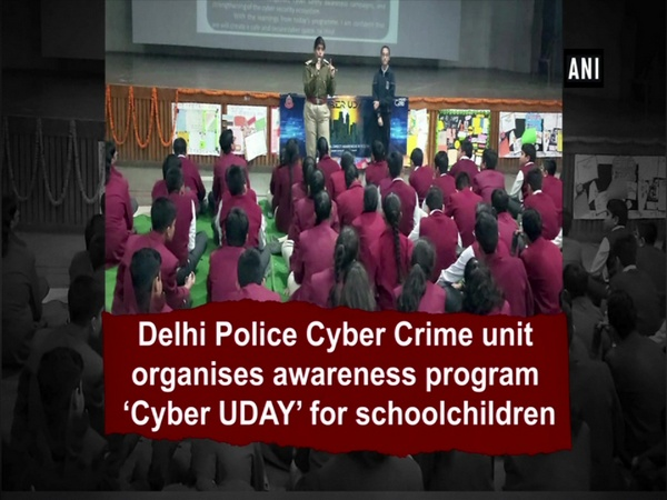 Delhi Police Cyber Crime unit organises awareness program 'Cyber UDAY' for schoolchildren
