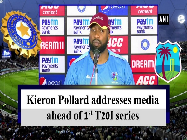 Kieron Pollard addresses media ahead of 1st T20I series