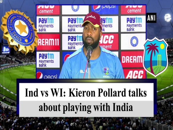 Ind vs WI: Kieron Pollard talks about playing with India
