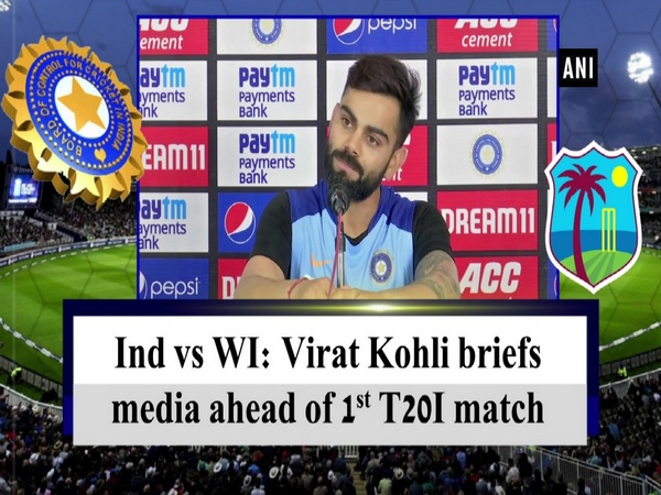 Ind vs WI: Virat Kohli briefs media ahead of 1st T20I match