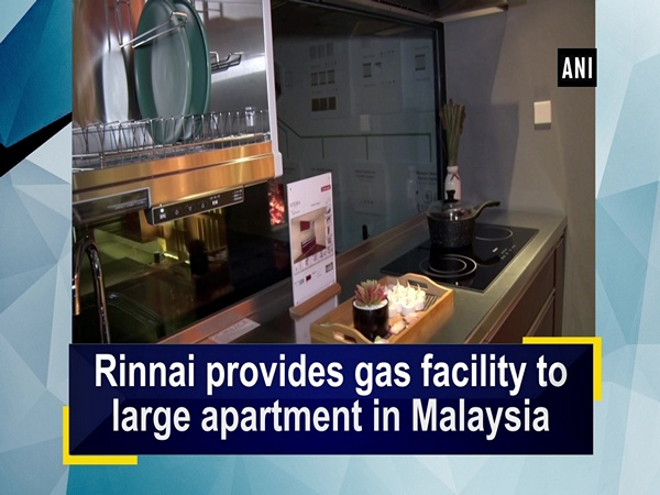 Rinnai provides gas facility to large apartment in Malaysia