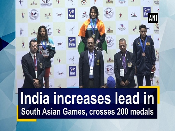 India increases lead in South Asian Games, crosses 200 medals