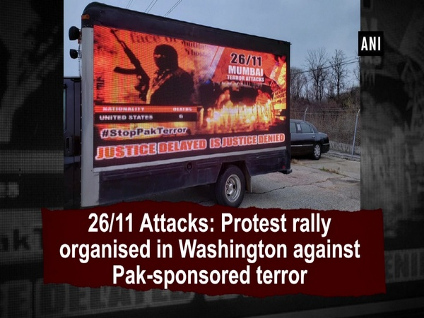 26/11 Attacks: Protest rally organised in Washington against Pak-sponsored terror