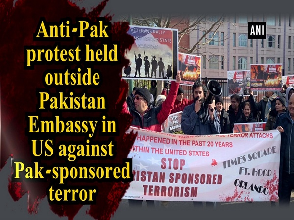 Anti-Pak protest held outside Pakistan Embassy in US against Pak-sponsored terror