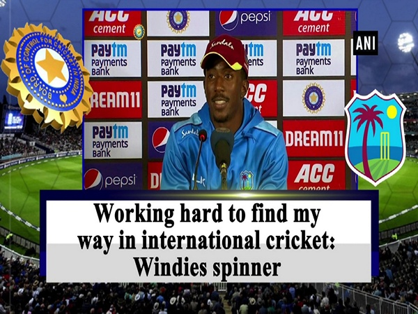 Working hard to find my way in international cricket: Windies spinner