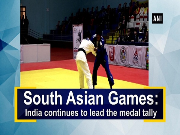 South Asian Games: India continues to lead the medal tally