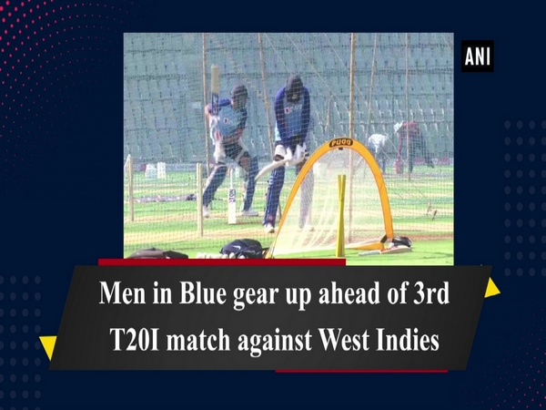 Men in Blue gear up ahead of 3rd T20I match against West Indies