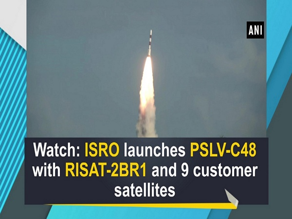 Watch: ISRO launches PSLV-C48 with RISAT-2BR1 and 9 customer satellites