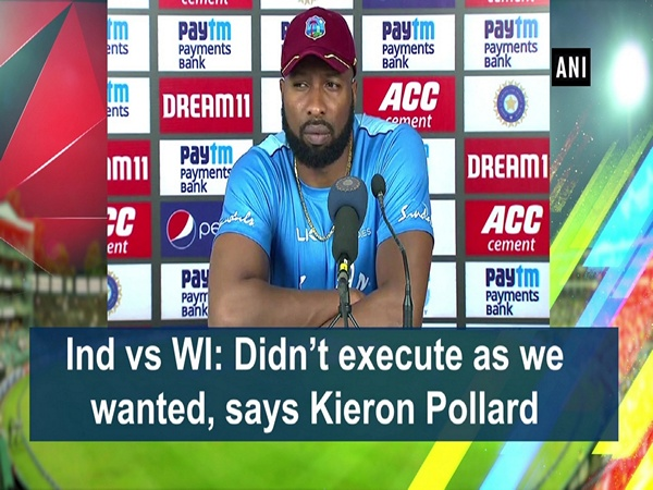 Ind vs WI: Didn't execute as we wanted, says Kieron Pollard