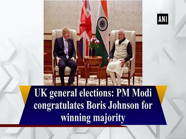 UK general elections: PM Modi congratulates Boris Johnson for winning majority