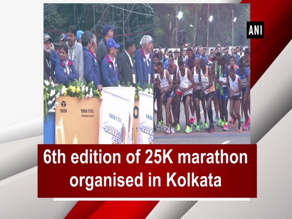 6th edition of 25K marathon organised in Kolkata