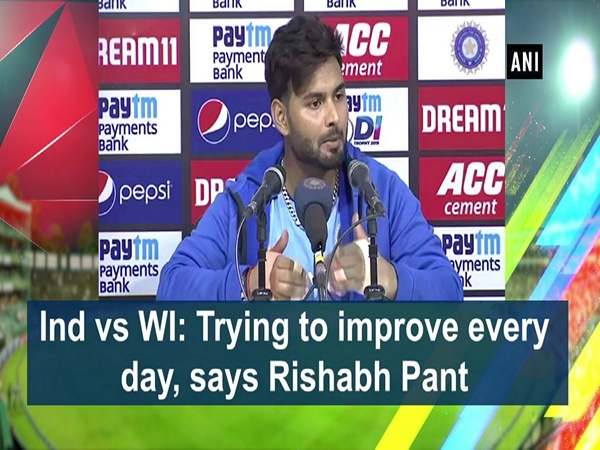 Ind vs WI: Trying to improve every day, says Rishabh Pant