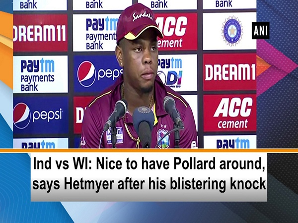 Ind vs WI: Nice to have Pollard around, says Hetmyer after his blistering knock