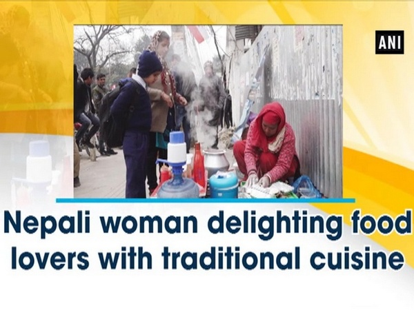 Nepali woman delighting food lovers with traditional cuisine