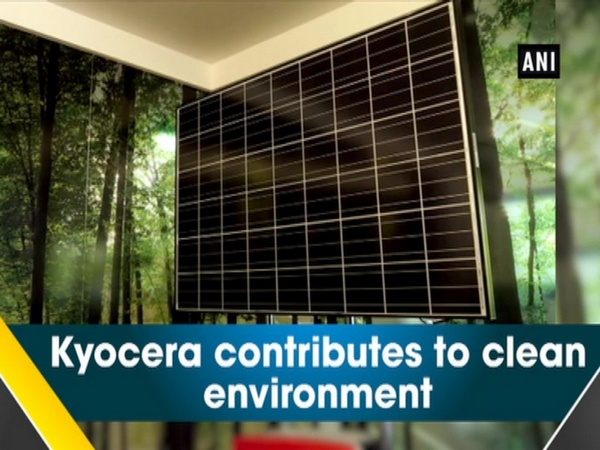 Kyocera contributes to clean environment