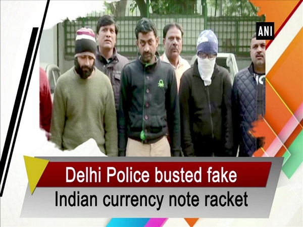 Delhi police busted fake Indian currency note racket
