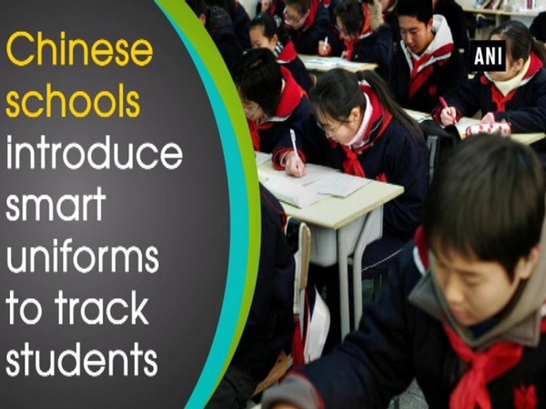 Chinese schools introduce smart uniforms to track students
