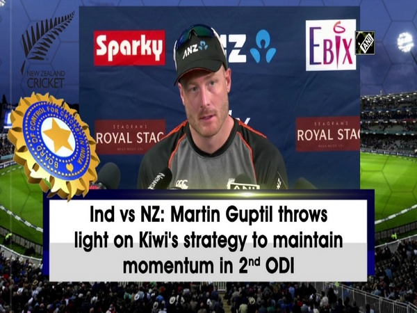 Ind vs NZ: Martin Guptil throws light on Kiwi's strategy to maintain momentum in 2nd ODI