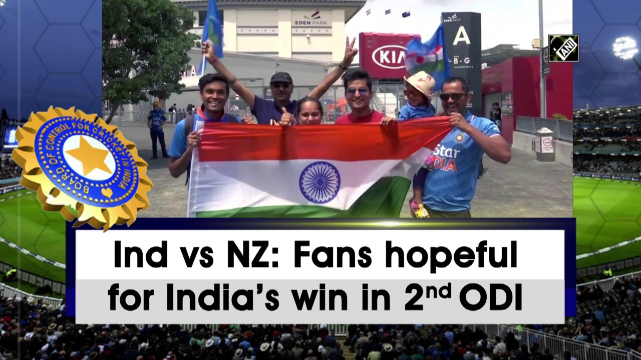 Ind vs NZ: Fans hopeful for India's win in 2nd ODI