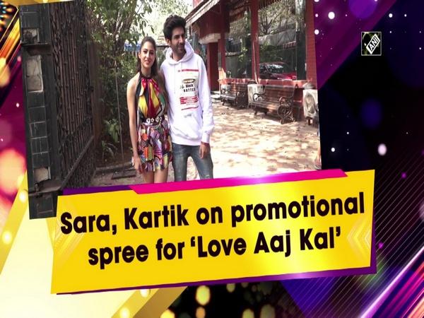 Sara, Kartik on promotional spree for 'Love Aaj Kal'